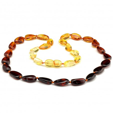 Baltic amber necklace 241