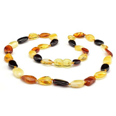 Baltic amber necklace 239