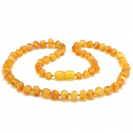(5 pcs.) Baroque baltic amber necklace 165