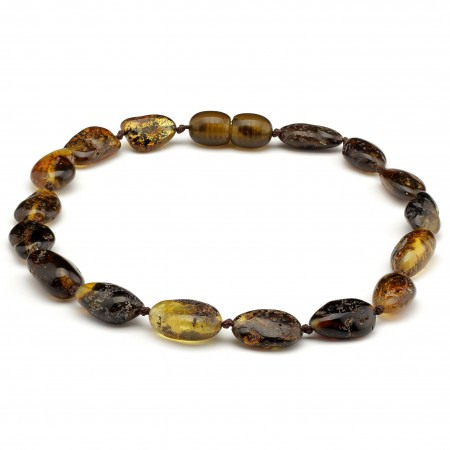 Baltic amber bracelet 169
