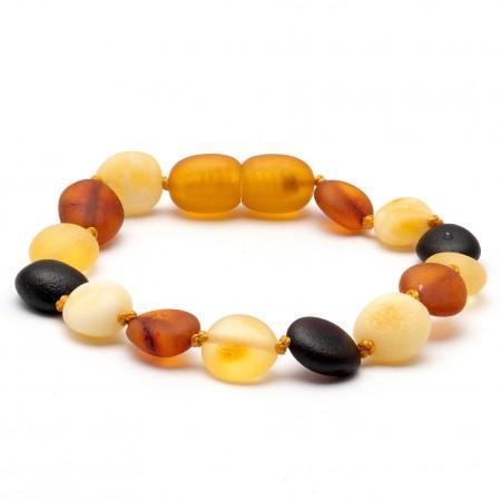 Baby teething amber bracelet 11