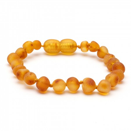 (10 pcs.) Baroque amber teething bracelet 24