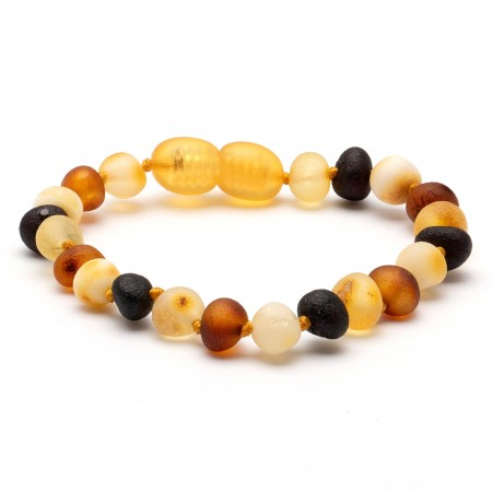(10 pcs.) Baroque amber teething bracelet 32