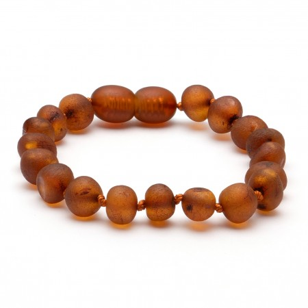 (10 pcs.) Baroque amber teething bracelet 29