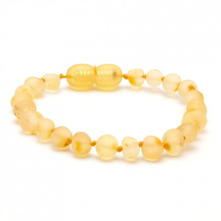 (10 pcs.) Baroque amber teething bracelet 25