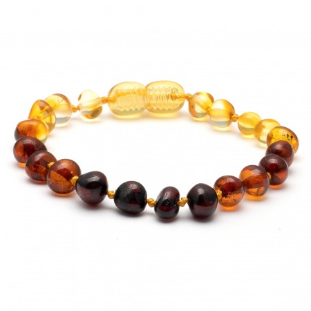 (10 pcs.) Baroque amber teething bracelet 30