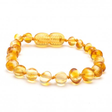 (10 pcs.) Baroque amber teething bracelet 12