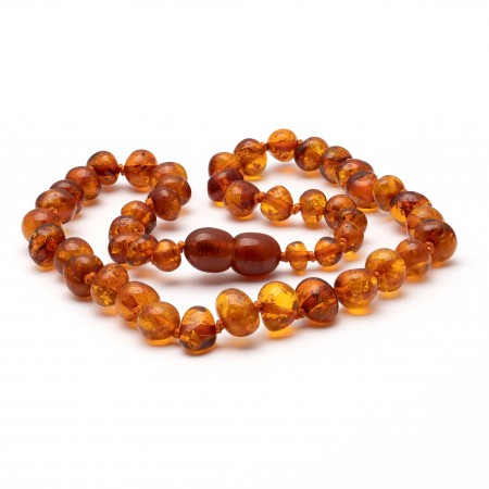 Baroque amber teething necklace 13