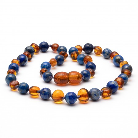 Amber teething necklace 134