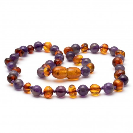 Amber teething necklace 131