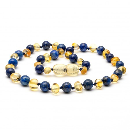 Amber teething necklace 128